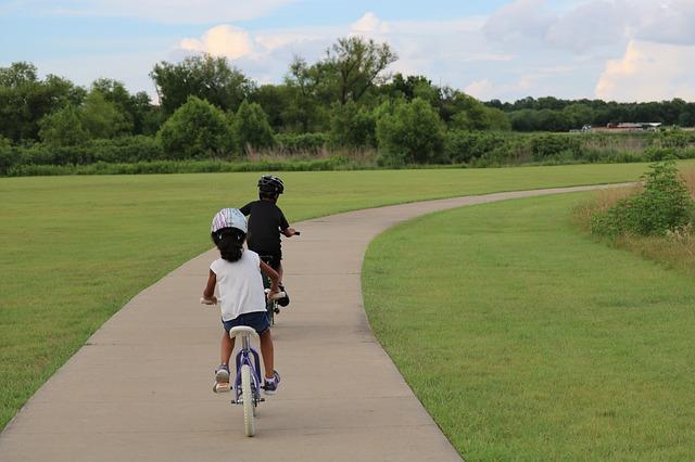 jongens fiets